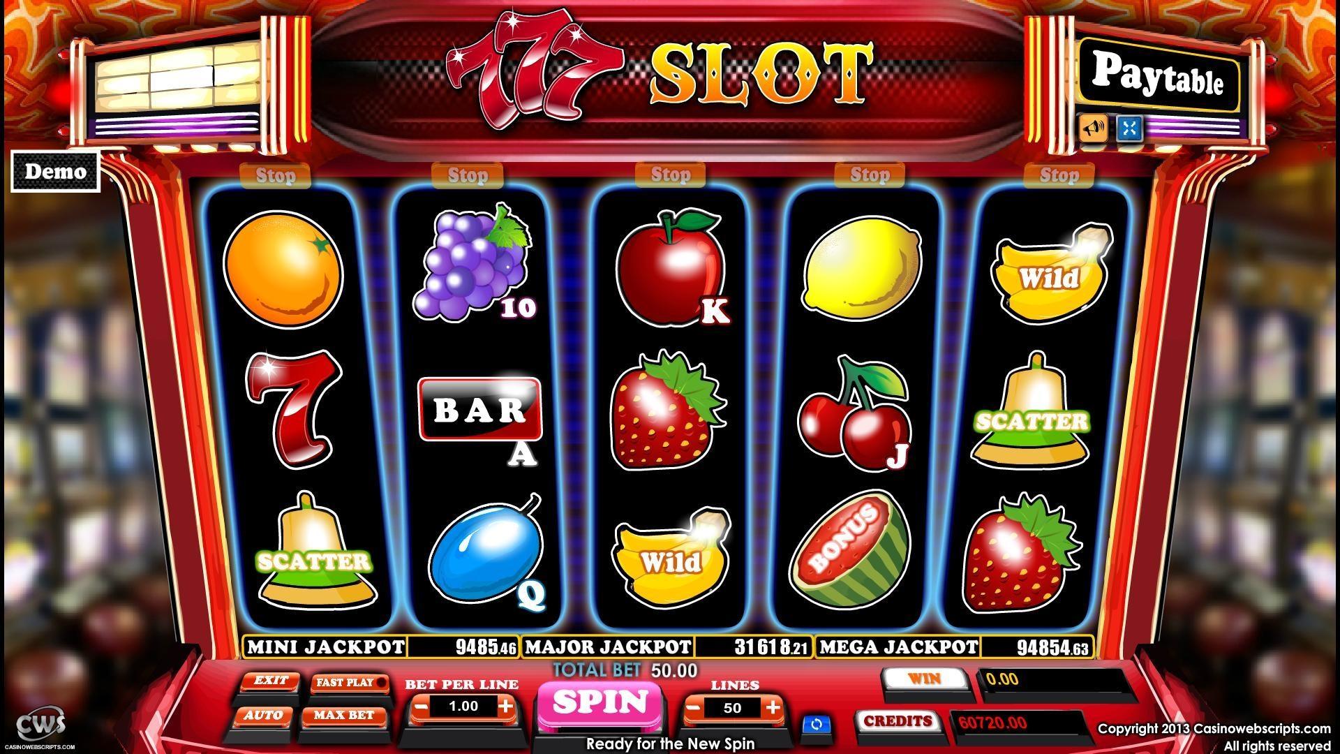 77 slots